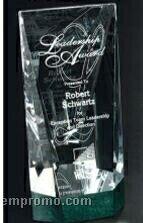 """Verde Gallery Crystal & Marble Valera Award (8"""")"""