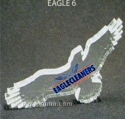 Acrylic Paperweight Up To 12 Square Inches / Eagle