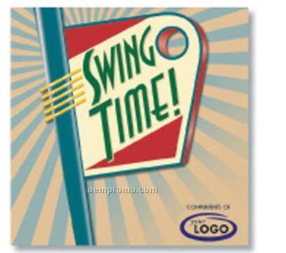 Big Band Swing Time Compact Disc In Jewel Case (10 Songs)