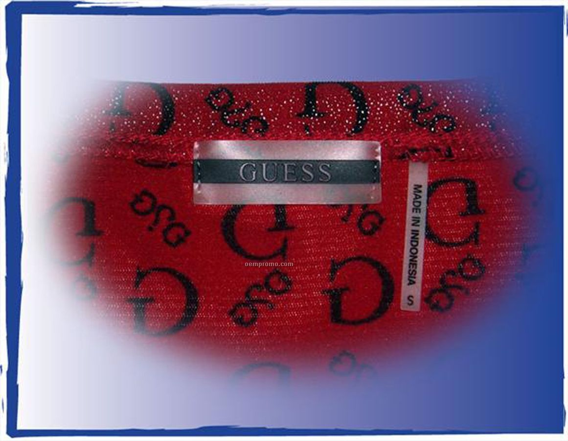 "Custom Flex Systems 3d Soft Pvc Flexible Sew On Label (2.5"")"