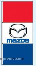 Double Face Dealer Interceptor Drape Flags - Mazda