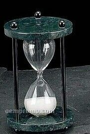 Green Marble 4 Minute Sand Timer