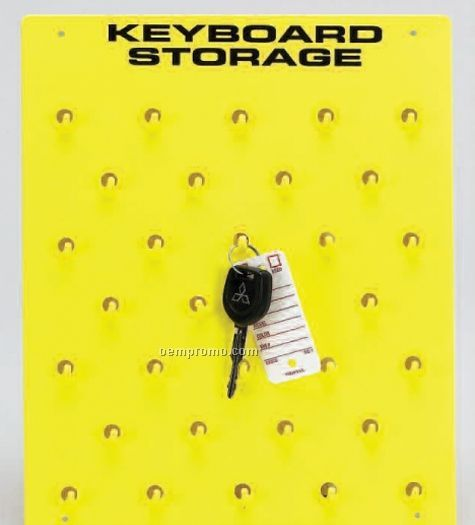 Stock Keyboard Storage Board - Holds 32 Keys
