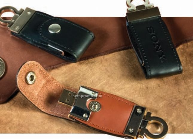 Beacon Leather Flash Drive (4gb)