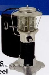 Brinkmann Stainless Steel Propane Lantern W/ Protective Carrying Case