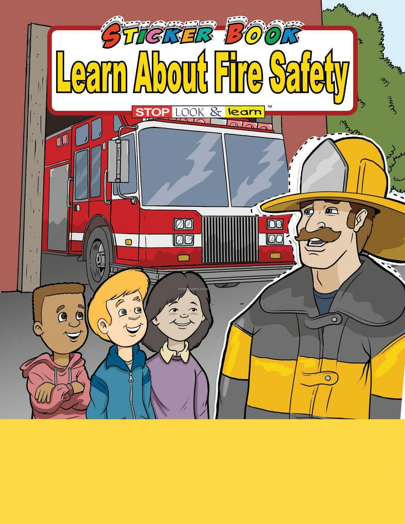 Learn About Fire Safety Sticker Book