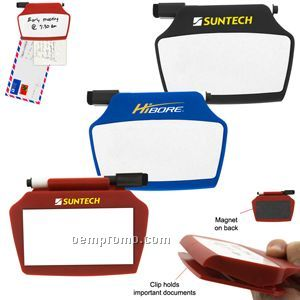 Magnetic Clip White Board Set (23 Hour Service)