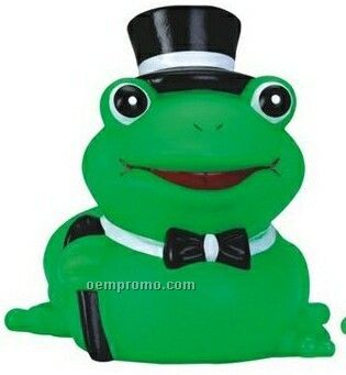 Rubber Prince Charming Frog Toy