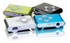 Aluminum Clip On Mp3 Player (2 Gb)