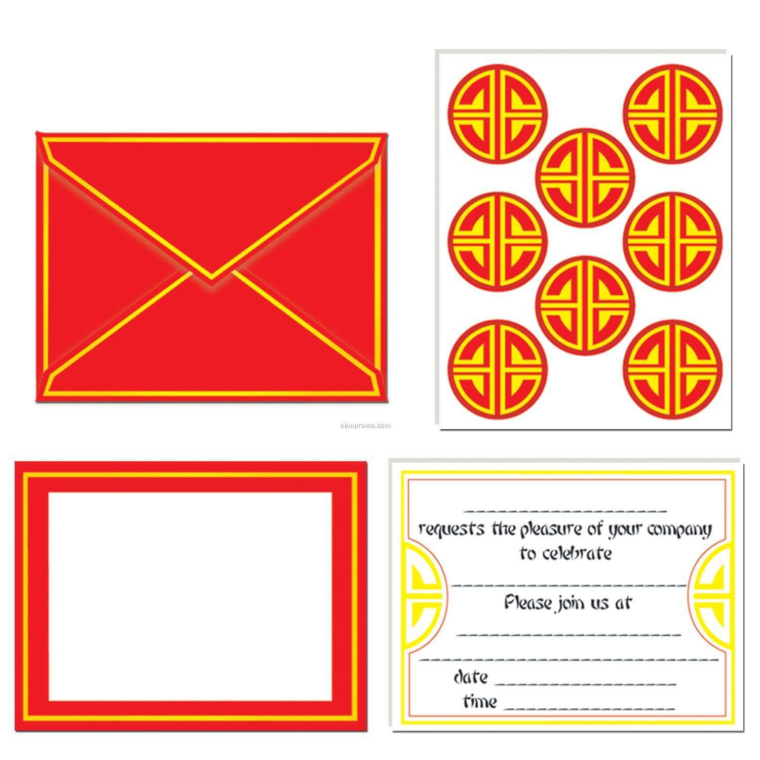 Chinese Invitations & Seals