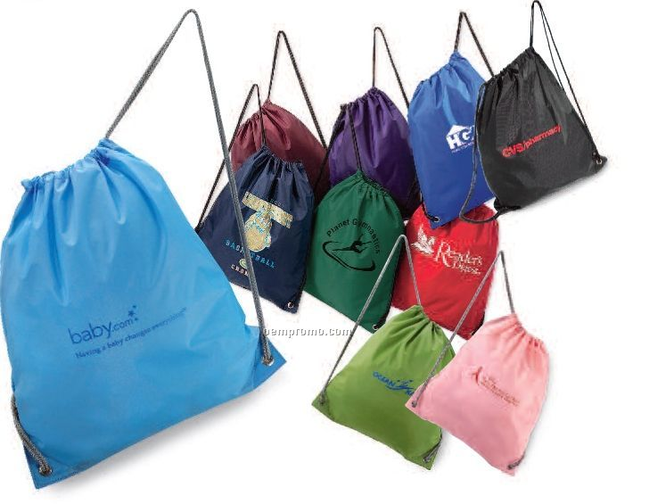 Polyester Cinchpack (Royal Blue)