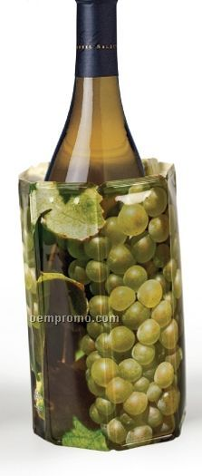 Rapid Ice Bottle Cooler With Grape Design