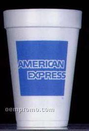 16 Oz. Tall White Styrofoam Coffee Cup