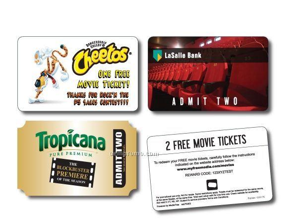 2 Movie Tickets Card