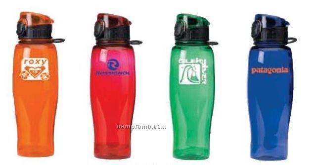 24 Oz. Flip Top Polycarb Sport Bottle
