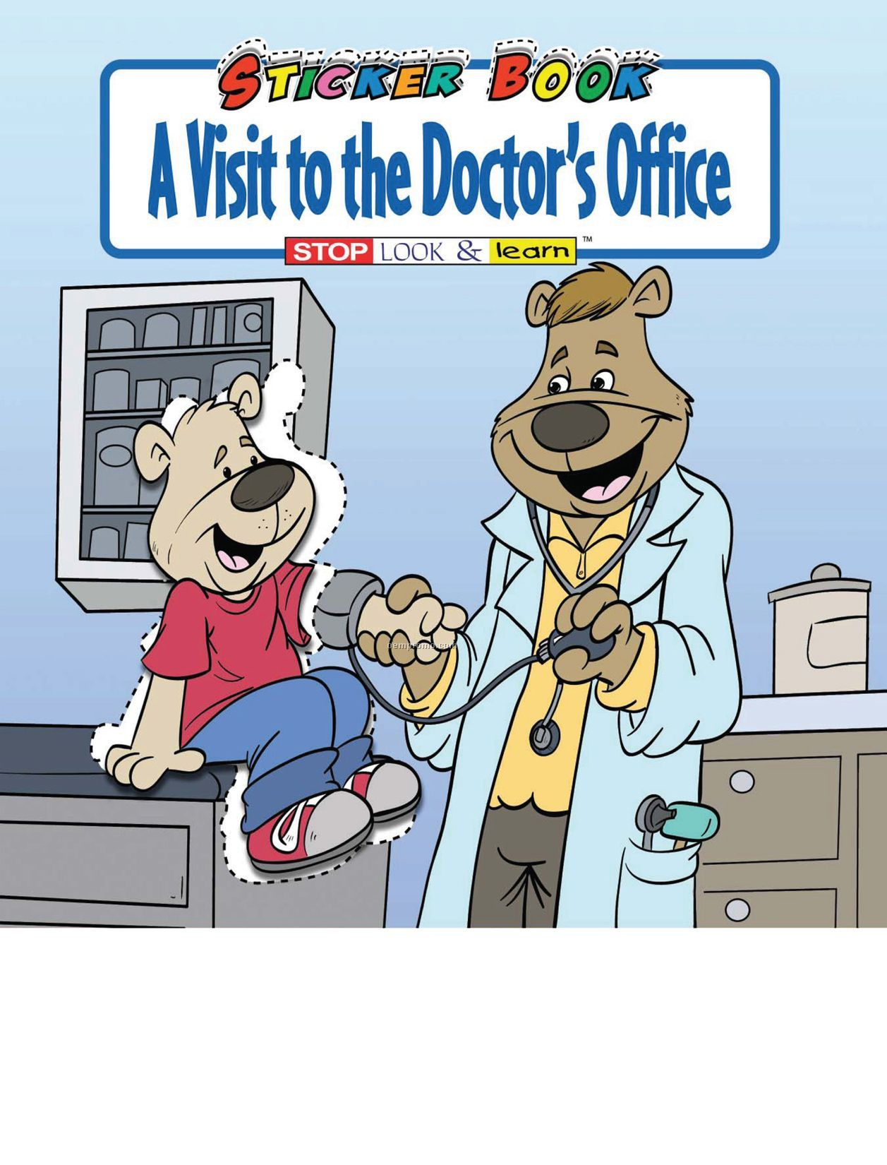 A Visit To The Doctor's Office Sticker Book Fun Pack