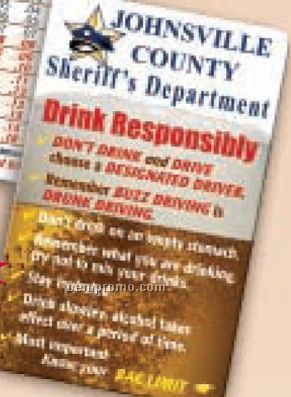 Blood Alcohol Concentration Card