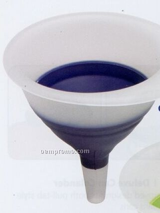 Blue Collapsible Funnel