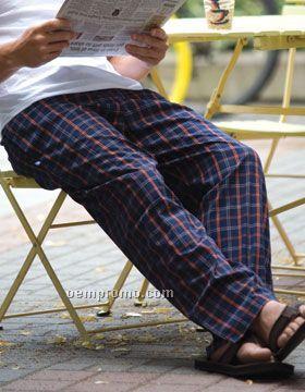 Robinson Apparel Division Plaid Pants (S-xl)