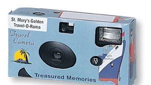 Stock Disposable Travel Camera