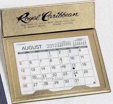 The Crown Warwick Premier Desk Calendar (After April)
