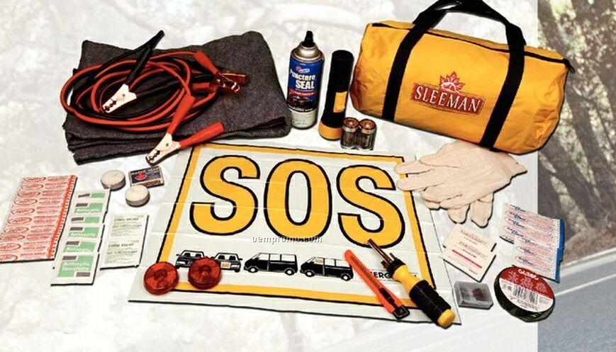 Interstate Road Hazard Kit In A Soft Pack Bag