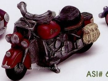Stock Motorcycle Candle