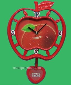 Apple Swing Wall Clock