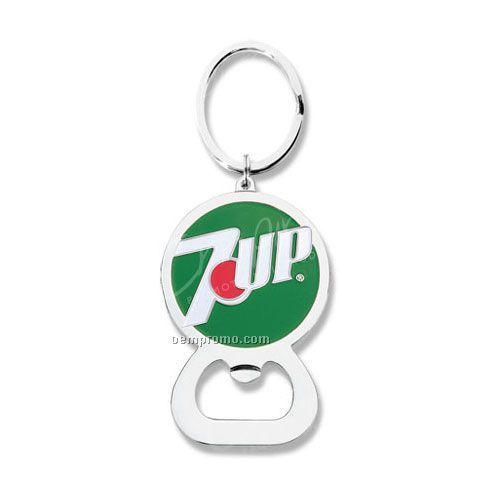 Die Struck Bottle Opener Key Tag