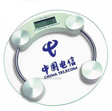 Digital Body Scale W/Safety Glass