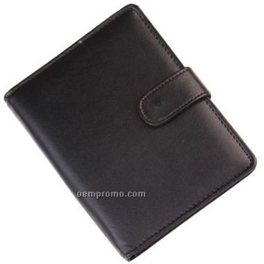 Leather Pocket Book Solar Calculator (Screen)
