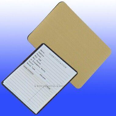 Magnetic Metallic Business Card Address Book