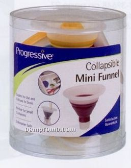 Collapsible Mini Funnel Counter Display Unit