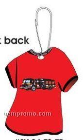 Fire Truck T-shirt Zipper Pull