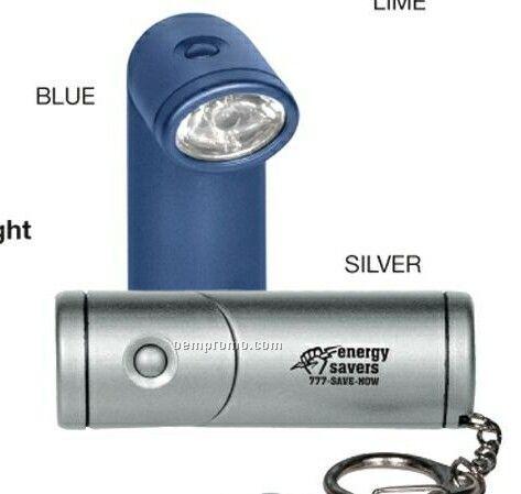 Mini LED Pivoting Flashlight
