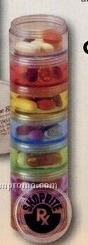 Small Stackable Pill Reminder Container