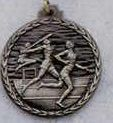 """Stock Cast Medallions - Track - General - Male (2-1/2"""")"""