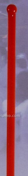 "6"" Standard Slim Jim Stirrer (Red)"