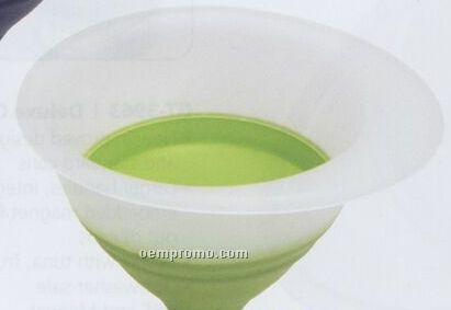 Green Collapsible Funnel