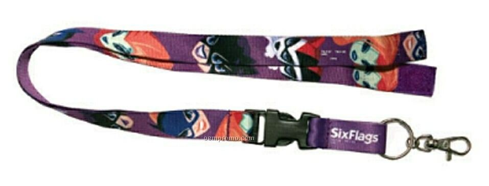 Heat Transfer Lanyard - 3/8""