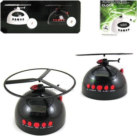 Helicopter Alarm Clock