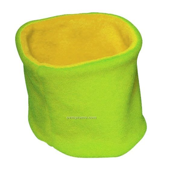 Youth Polar Fleece 2 Tone Reversible Neck Warmers (One Size)