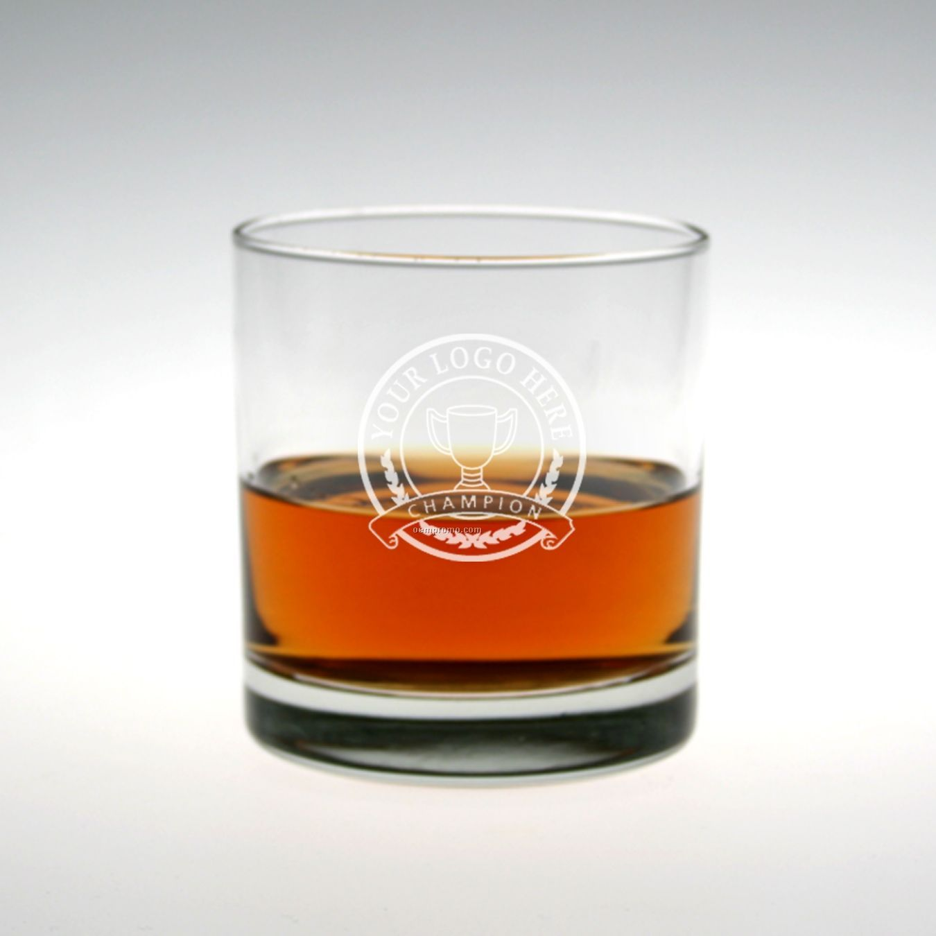 11 Oz. Selection On The Rocks Glass (Set Of 4 - Deep Etch)