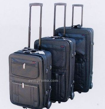 Fashion Luggage 3 Piece Set - Collection A (Gray)