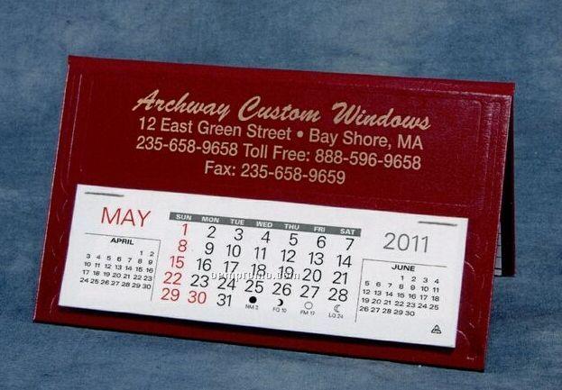 Norfolk Nu-leth-r Desk Calendar (After April)