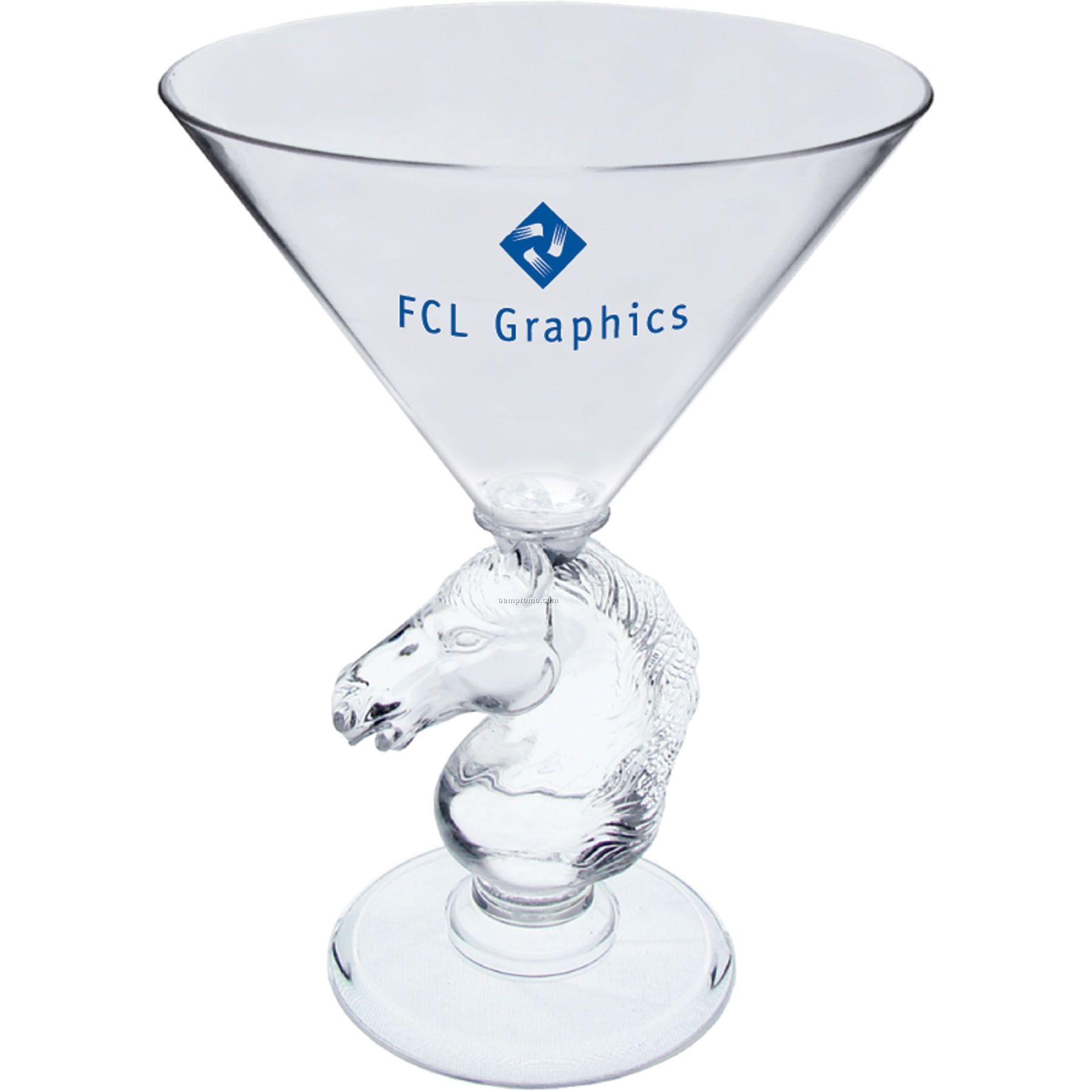 10 Oz. Novelty Stem Martini Glass