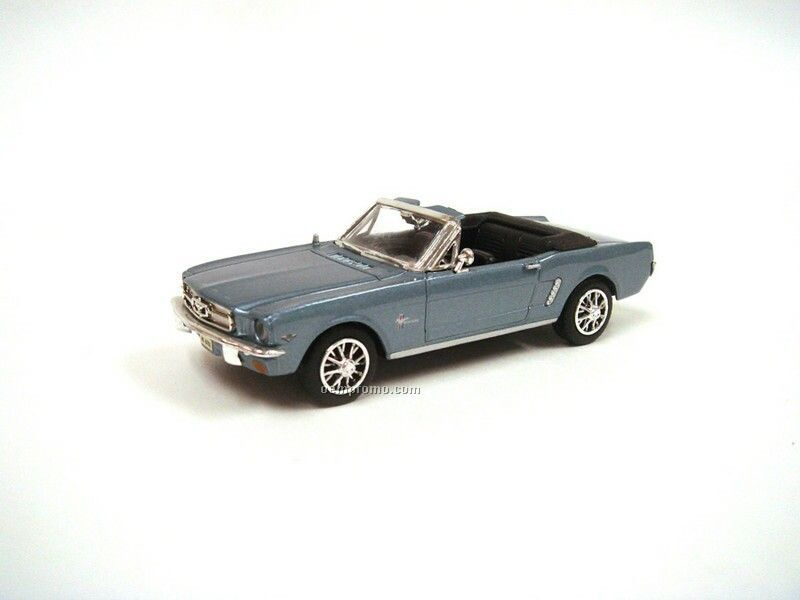 """4.25"""" 1/43 Scale 1964 1/2 Ford Mustang Convertible"""