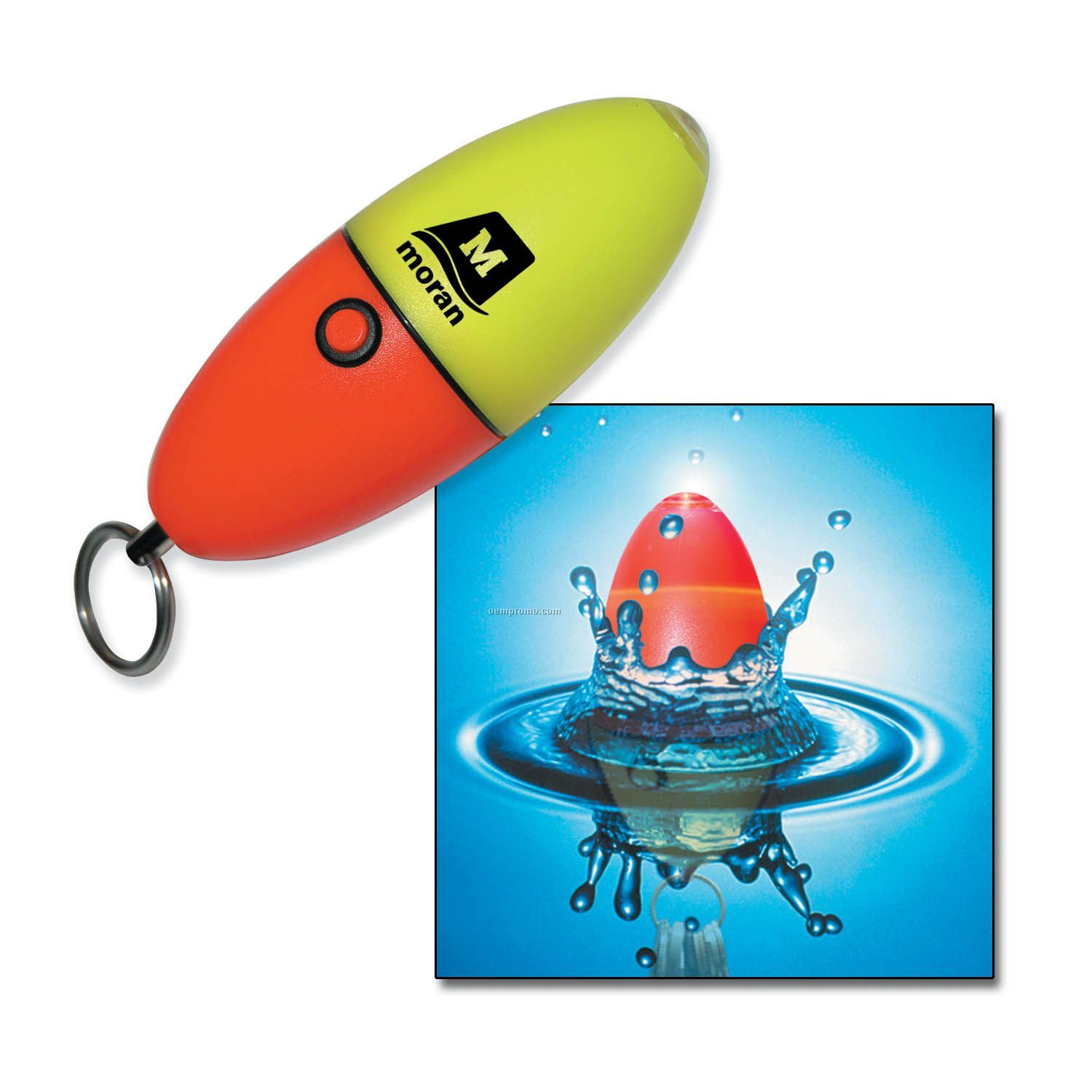 Floating Strobe LED Keychain Lite