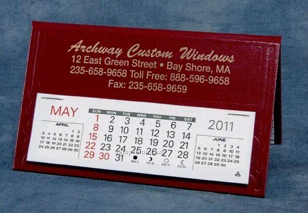 Norfolk Nu-leth-r Desk Calendar (January - April)