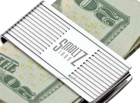 Polished Chrome Money Clip